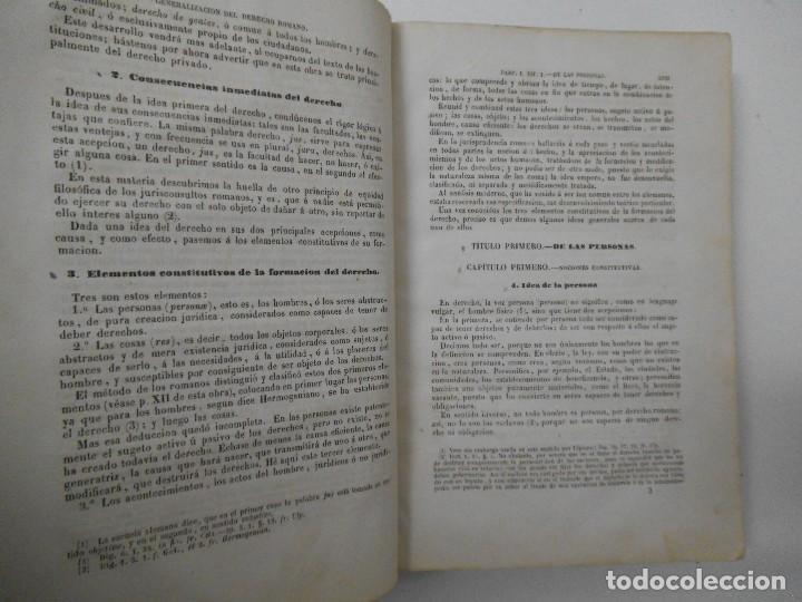 Libros antiguos: Esplicacion histórica de las Instituciones del emperador Justiniano - 1847 - Foto 5 - 109582067