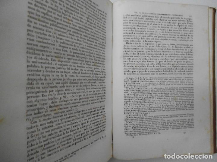 Libros antiguos: Esplicacion histórica de las Instituciones del emperador Justiniano - 1847 - Foto 10 - 109582067