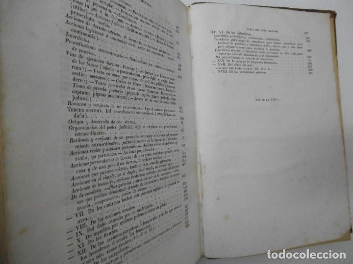 Libros antiguos: Esplicacion histórica de las Instituciones del emperador Justiniano - 1847 - Foto 11 - 109582067