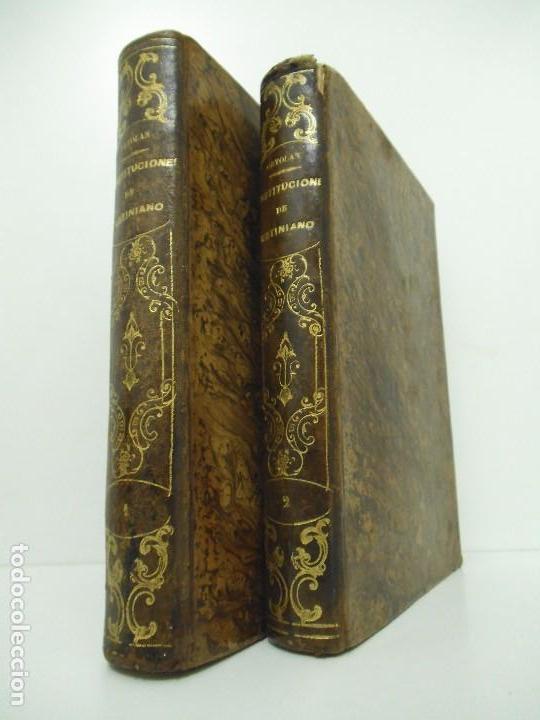 ESPLICACION HISTÓRICA DE LAS INSTITUCIONES DEL EMPERADOR JUSTINIANO - 1847 (Libros antiguos (hasta 1936), raros y curiosos - Historia Antigua)