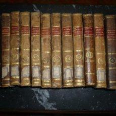 Libros antiguos: 13 TOMOS HISTORIA ECLESIASTICA BERAULT-BERCASTEL 1804-1808 MADRID . Lote 109992815
