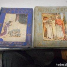 Libros antiguos: DOS LIBRO COLECCION ARALUCE ILUSTRADOS SEGRELLES. Lote 110015479