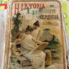 Alte Bücher - HISTORIA DE GRECIA CALLEJA 1894 - 110023531