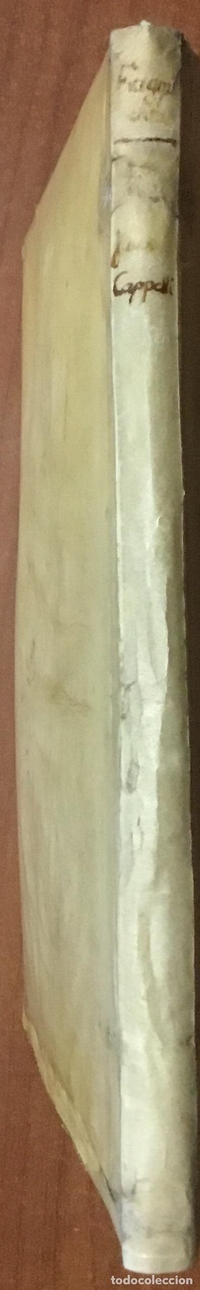 Libros antiguos: JACOBI CAPPELLI PARRHIE[N]SIS. Fragmenta ex variis authorib[us] pressim concinata, humanaru[m] liter - Foto 4 - 109020959