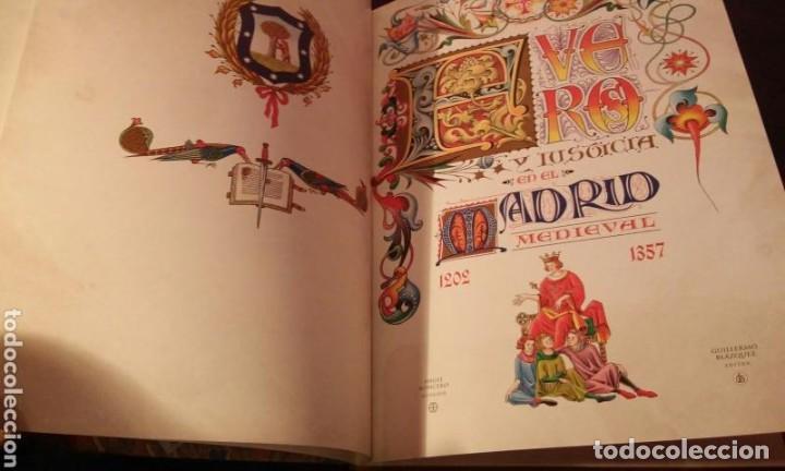 Libros antiguos: FUEROS DEL MADRID MEDIEVAL(ENUMERADA DE 750 EJEMPLARES)GUILLERMO BLAZQUEZ EDITOR 2003 - Foto 4 - 110906611