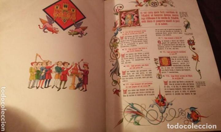 Libros antiguos: FUEROS DEL MADRID MEDIEVAL(ENUMERADA DE 750 EJEMPLARES)GUILLERMO BLAZQUEZ EDITOR 2003 - Foto 5 - 110906611