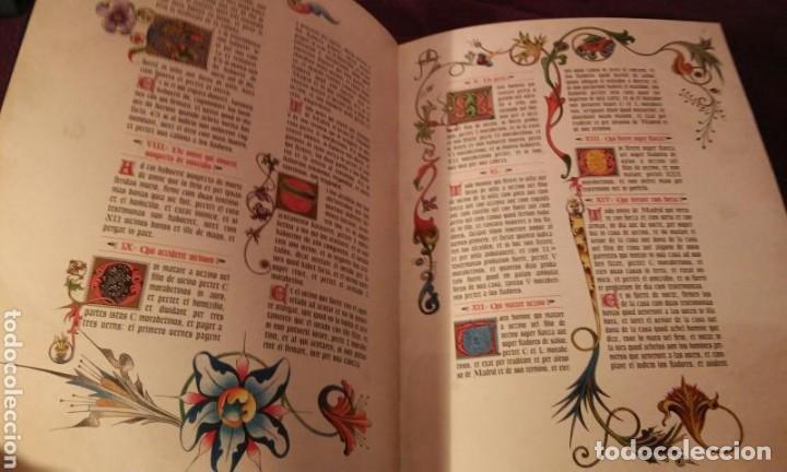 Libros antiguos: FUEROS DEL MADRID MEDIEVAL(ENUMERADA DE 750 EJEMPLARES)GUILLERMO BLAZQUEZ EDITOR 2003 - Foto 6 - 110906611