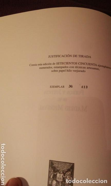 Libros antiguos: FUEROS DEL MADRID MEDIEVAL(ENUMERADA DE 750 EJEMPLARES)GUILLERMO BLAZQUEZ EDITOR 2003 - Foto 7 - 110906611