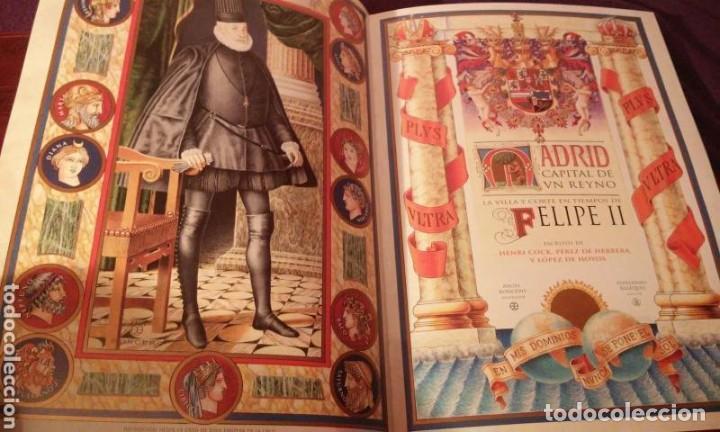 Libros antiguos: MADRID CAPITAL DE UN REYNO .HENRI COCK.PEREZ DE HERRERA .LOPEZ DE HOYOS (NUMERADA 750 EJEMPLARES) - Foto 2 - 110907779