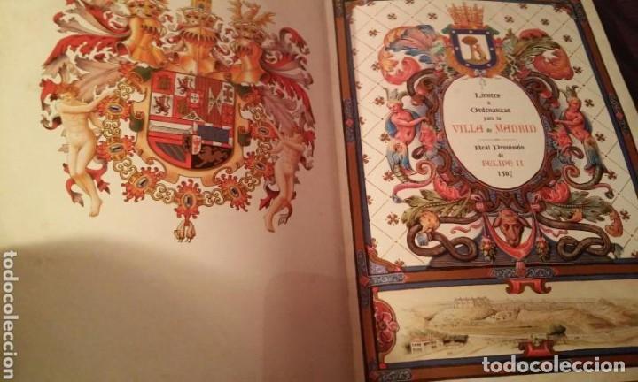 Libros antiguos: MADRID CAPITAL DE UN REYNO .HENRI COCK.PEREZ DE HERRERA .LOPEZ DE HOYOS (NUMERADA 750 EJEMPLARES) - Foto 3 - 110907779