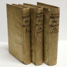 Libros antiguos: HISTORIA DE LA CONQUISTA DE MÉXICO, POBLACIÓN Y PROGRESOS DE LA AMÉRICA SEPTENTRION - SOLÍS, ANTONIO. Lote 109023467