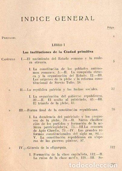 Libros antiguos: HOMO : INSTITUCIONES POLÍTICAS ROMANAS (1928) - Foto 2 - 44633581