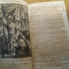 Libros antiguos: ROMAN HISTORY. WILLIAM HENRY MELMOTH 1782. Lote 111437647