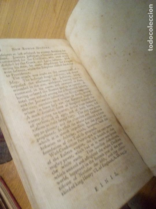 Libros antiguos: Roman History. William Henry Melmoth 1782 - Foto 6 - 111437647