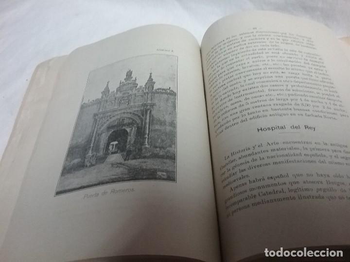 Libros antiguos: ANTIGUO LIBRO RESEÑA HISTÓRICA DE LOS HOSPITALES DE LA CIUDAD DE BURGOS - JOSÉ SANTAMARIA - 1914 - Foto 7 - 111480827