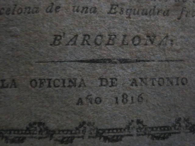 Libros antiguos: BARCELONA CAUTIVA- ABRIL 1809 - CUADERNO 15- INCLUYE GRABADO VIVA FERNANDO VII-VER FOTOS-(V-13.352) - Foto 6 - 111606359