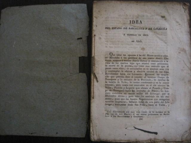 Libros antiguos: BARCELONA CAUTIVA- ABRIL 1809 - CUADERNO 15- INCLUYE GRABADO VIVA FERNANDO VII-VER FOTOS-(V-13.352) - Foto 8 - 111606359