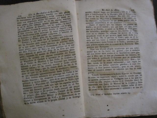 Libros antiguos: BARCELONA CAUTIVA- ABRIL 1809 - CUADERNO 15- INCLUYE GRABADO VIVA FERNANDO VII-VER FOTOS-(V-13.352) - Foto 9 - 111606359