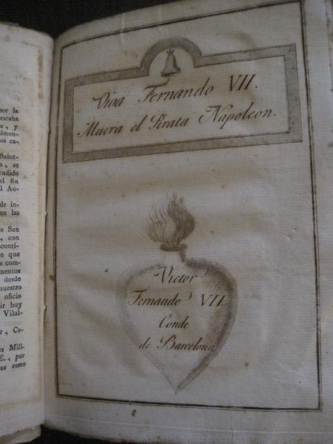 Libros antiguos: BARCELONA CAUTIVA- ABRIL 1809 - CUADERNO 15- INCLUYE GRABADO VIVA FERNANDO VII-VER FOTOS-(V-13.352) - Foto 11 - 111606359