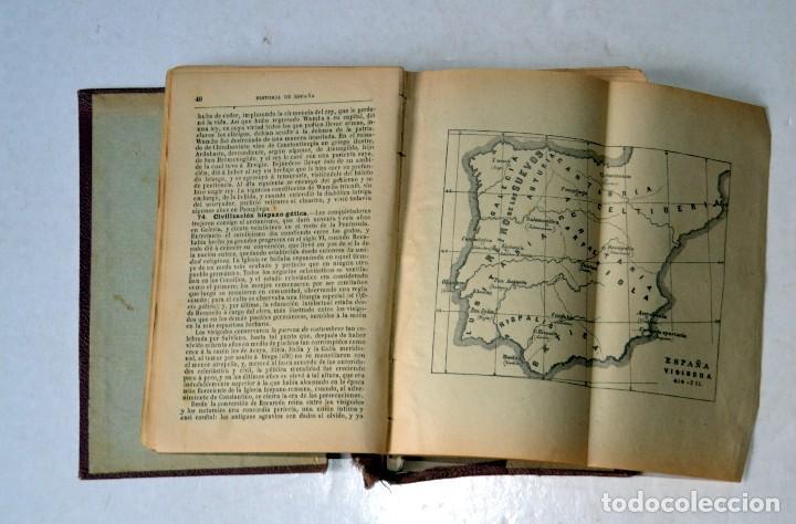 Libros antiguos: LIBRO. PRONTUARIO DE HISTORIA DE ESPAÑA POR FÉLIX SÁNCHES CASADO. AÑO 1917 - Foto 3 - 111771231