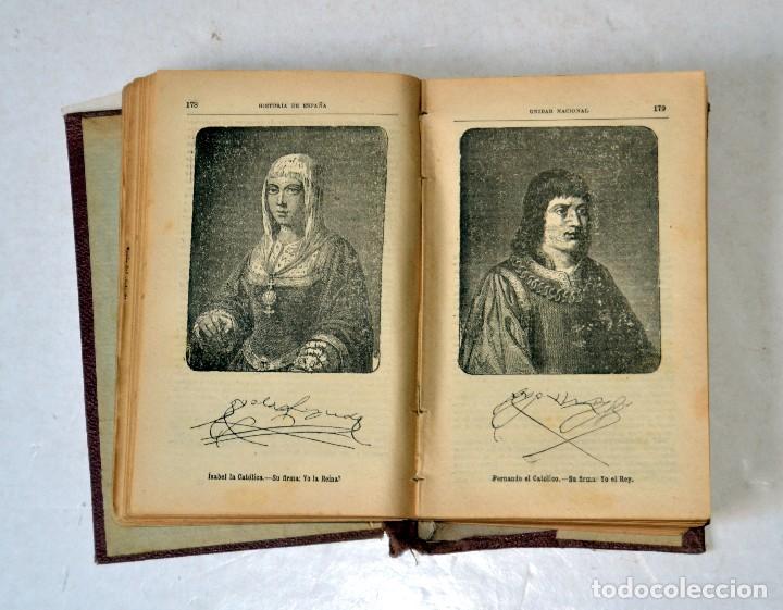 Libros antiguos: LIBRO. PRONTUARIO DE HISTORIA DE ESPAÑA POR FÉLIX SÁNCHES CASADO. AÑO 1917 - Foto 6 - 111771231