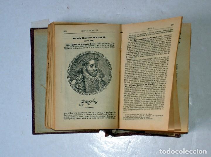 Libros antiguos: LIBRO. PRONTUARIO DE HISTORIA DE ESPAÑA POR FÉLIX SÁNCHES CASADO. AÑO 1917 - Foto 7 - 111771231