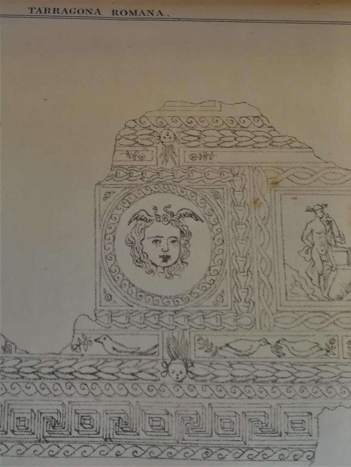Libros antiguos: ANTIGUO LIBRO,TARRAGONA MONUMENTAL,ANTIGUEDADES Y MONUMENTOS,1849,ARCO DE BARA,ACUEDUCTO,ARQUEOLOGIA - Foto 6 - 112053567