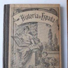 Libros antiguos: NOCIONES DE HISTORIA DE ESPAÑA. BALTASAR PERALES. CUARTA EDICION. VALENCIA, 1902. Lote 112621463