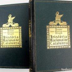 Libros antiguos: L-4705. HISTÓRIA NACIONAL DE CATALUNYA. A. ROVIRA I VIRGILI. VOLUM I I II. EDICIONS PÁTRIA. ANY 1922. Lote 112882843