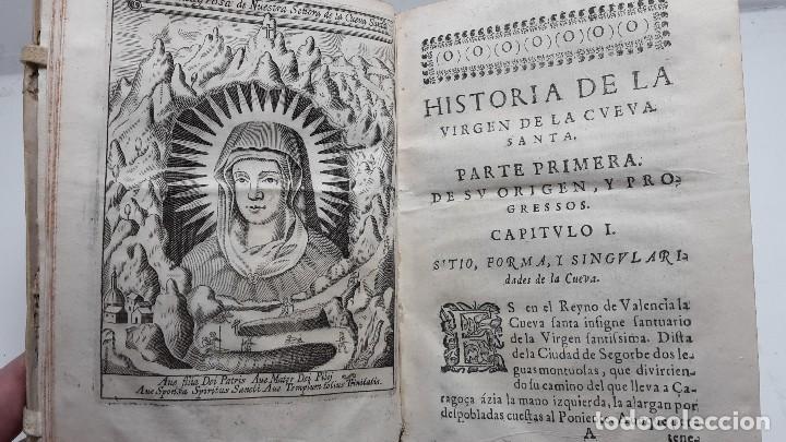 Historia De La Virgen De La Cueva Santa Ano 1655 Original Valencia