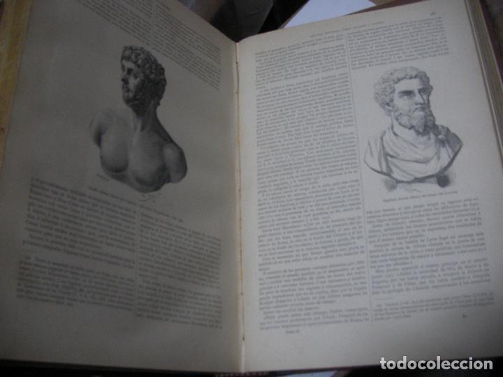 Libros antiguos: IMPRESIONATE ANTIGUOS VOLUMENES - HISTORIA DE LOS ROMANOS - VICTOR DURUY (MONTANER Y SIMÓN, 1888 - Foto 5 - 113359635