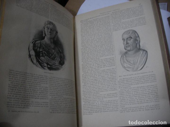 Libros antiguos: IMPRESIONATE ANTIGUOS VOLUMENES - HISTORIA DE LOS ROMANOS - VICTOR DURUY (MONTANER Y SIMÓN, 1888 - Foto 7 - 113359635