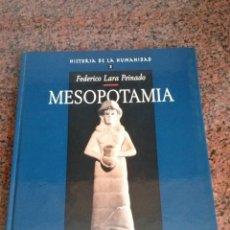 Libros antiguos: MESOPOTAMIA-HISTORIA DE LA HUMANIDAD NUMERO 3. Lote 113586719
