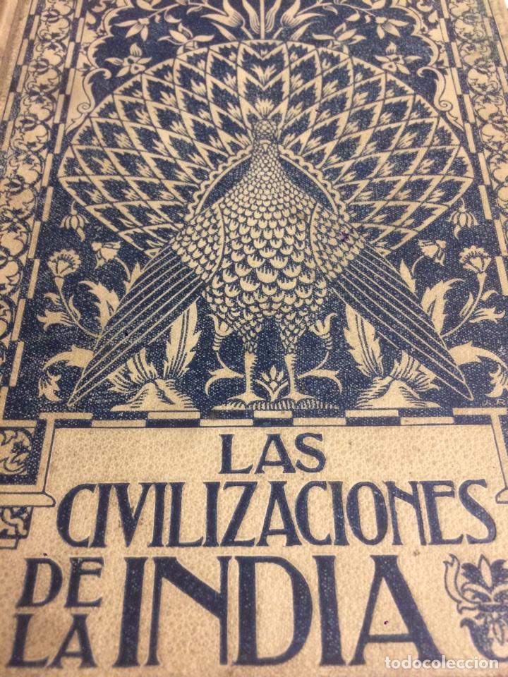 LAS CIVILIZACIONES DE LA INDIA 1901 GUSTAVO LE BON (Libros antiguos (hasta 1936), raros y curiosos - Historia Antigua)
