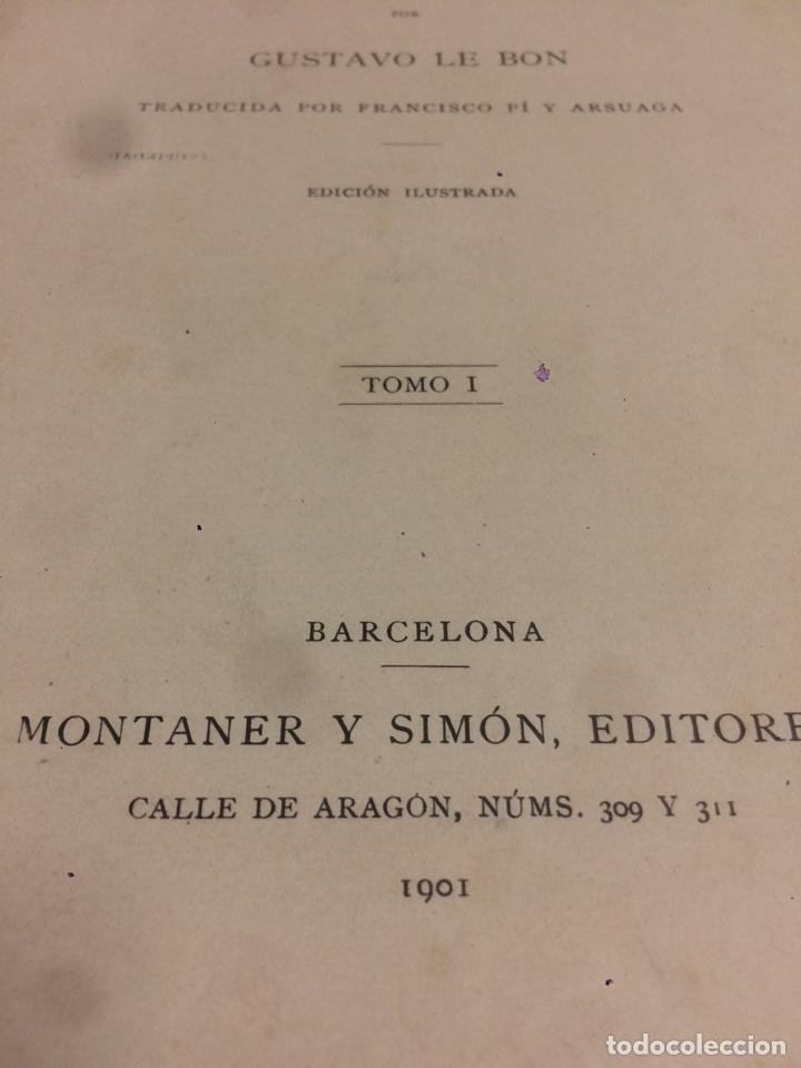 Libros antiguos: Las civilizaciones de la india 1901 Gustavo Le Bon - Foto 2 - 113626004