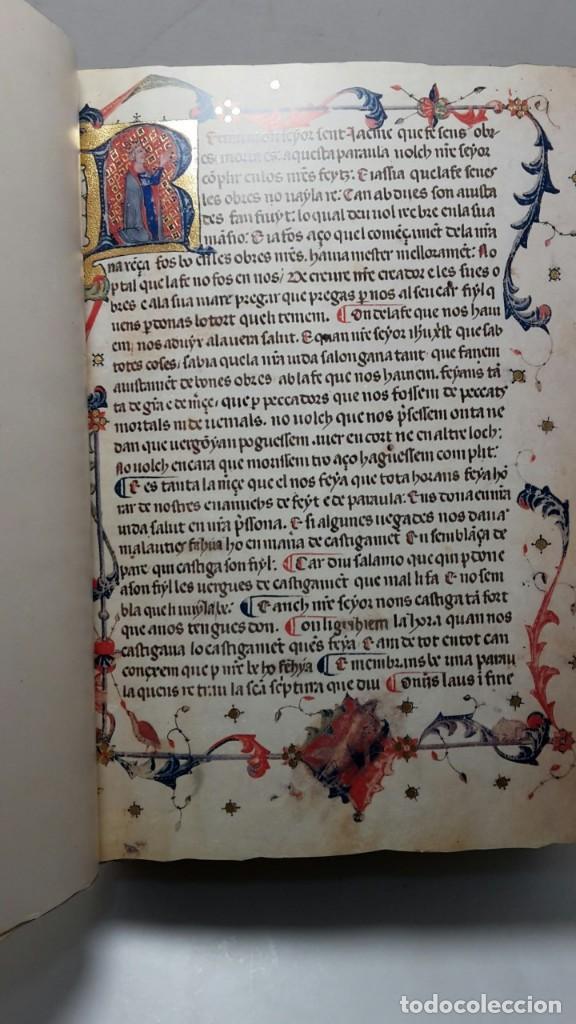 Libros antiguos: EL LLIBRE DELS FEYTS : CRONICA DE JAUME I.(facsimil.) - Foto 4 - 113940391