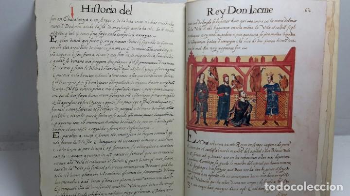 Libros antiguos: EL LLIBRE DELS FEYTS : CRONICA DE JAUME I.(facsimil.) - Foto 6 - 113940391