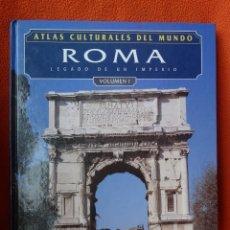 Libros antiguos: ATLAS CULTURAL DE ROMA (2 TOMOS). Lote 114034319