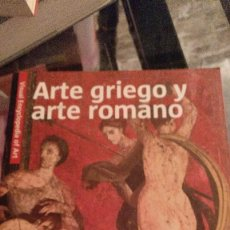 Libros antiguos: VISUAL ENCYCLOPEDIA OF ART - ARTE GRIEGO Y ARTE ROMANO. Lote 114221067