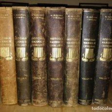 Libros antiguos: HISTÒRIA NACIONAL DE CATALUNYA, ROVIRA I VIRGILI COMPLETA 7 VOLUMENES ED.PÀTRIA 1922-1934. Lote 114222551