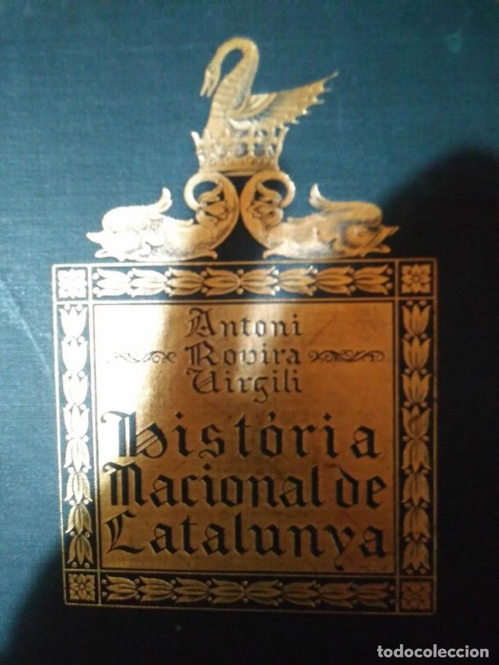 Libros antiguos: HISTÒRIA NACIONAL DE CATALUNYA, ROVIRA I VIRGILI COMPLETA 7 VOLUMENES ED.PÀTRIA 1922-1934 - Foto 8 - 114222551