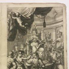 Libros antiguos: REGUM PARIUMQUE MAGNAE BRITANNIAE HISTORIA GENEALOGICA. QUA VETERUM..... NUREMBERG, 1690.. Lote 114154772