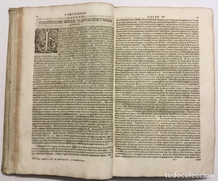 Libros antiguos: REGUM PARIUMQUE MAGNAE BRITANNIAE HISTORIA GENEALOGICA. Qua veterum..... Nuremberg, 1690. - Foto 6 - 114154772