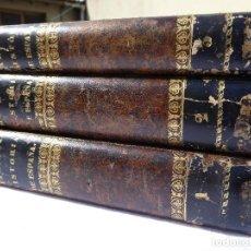 Libros antiguos: HISTORIA DE ESPAÑA. MARIANA. PIEL. 1852. III VOL.. Lote 114593403