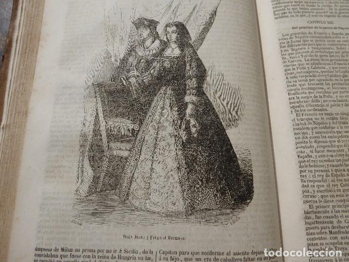 Libros antiguos: historia de españa. mariana. piel. 1852. III vol. - Foto 6 - 114593403
