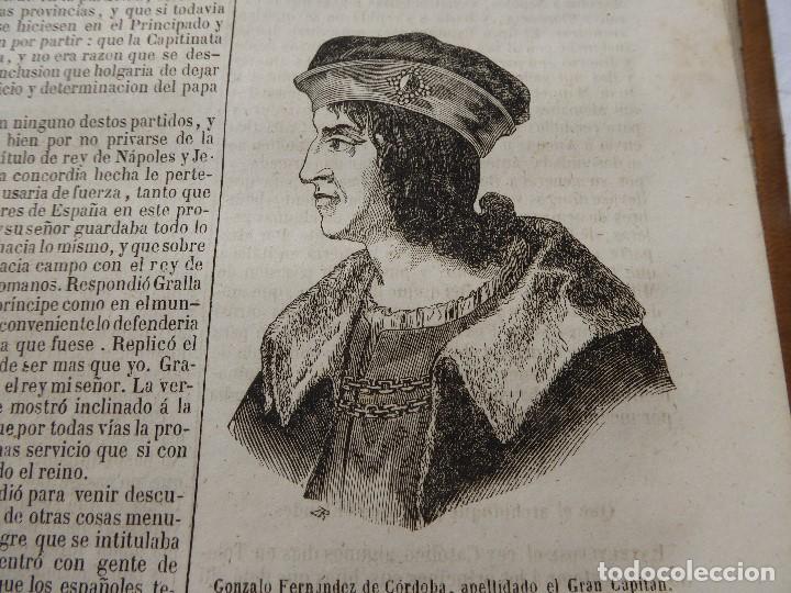 Libros antiguos: historia de españa. mariana. piel. 1852. III vol. - Foto 8 - 114593403