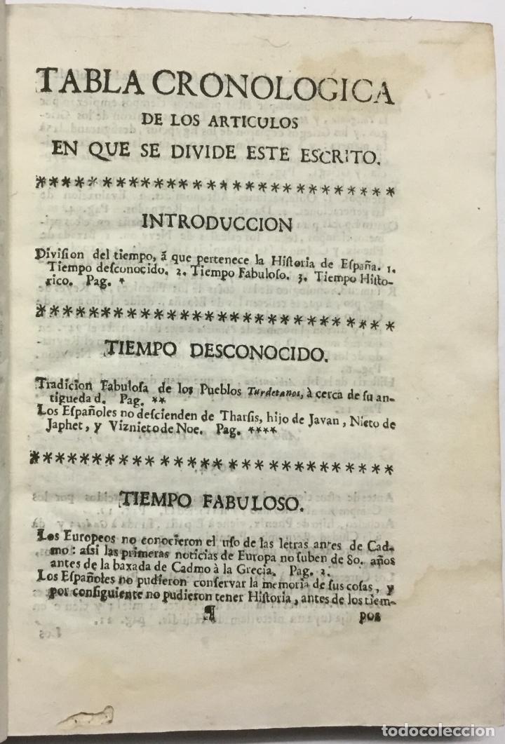 Libros antiguos: ANALES DE LA NACION ESPAÑOLA DESDE EL TIEMPO MAS REMOTO HASTA LA ENTRADA DE LOS ROMANOS. Sacados uni - Foto 2 - 114799370