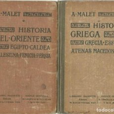 Libros antiguos: ALBERTO MALET: GRECIA (HISTORIA GRIEGA: GRECIA-ESPARTA-ATENAS-MACEDONIA). LIBRAIRIE HACHETTE, 1922. Lote 115026587