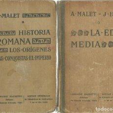 Libros antiguos: ALBERTO MALET Y J. ISAAC : LA EDAD MEDIA. CURSO DE HISTORIA PARA USO DE LA SEGUNDA ENSEÑANZA. (1922). Lote 115026875