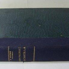 Libros antiguos: DON PEDRO I DE CASTILLA. P. JOAQUÍN GUICHOT. CRONISTA OFICIAL DE SEVILLA. FIRMADO POR EL AUTOR. 1878. Lote 115124859